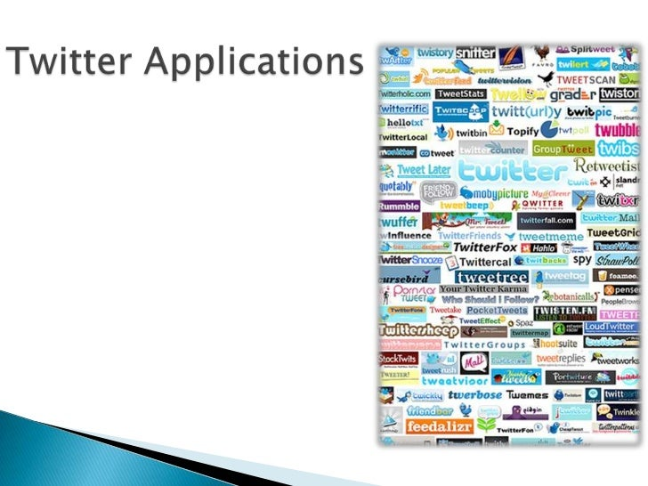 Twitter Applications<br />