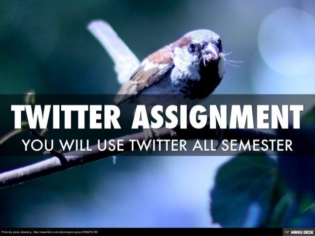Twitter Assignment