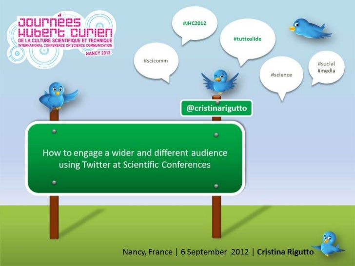 Twitter at scientific conferences