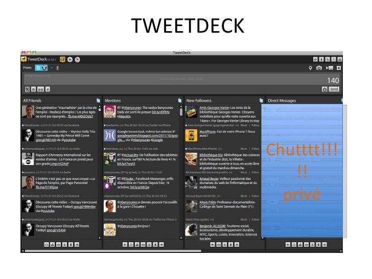 Tweeter rencontre