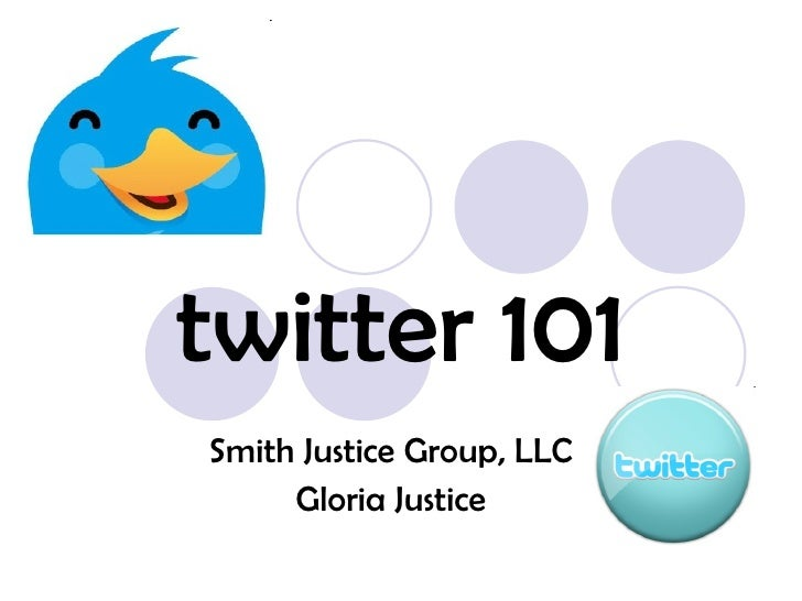 twitter 101 Smith Justice Group, LLC Gloria Justice
