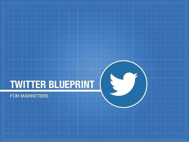 TWITTER BLUEPRINTFOR MARKETERS