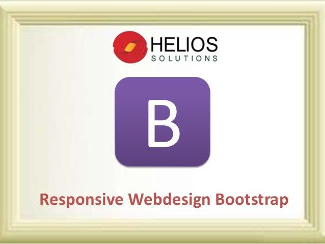 B Responsive Webdesign Bootstrap