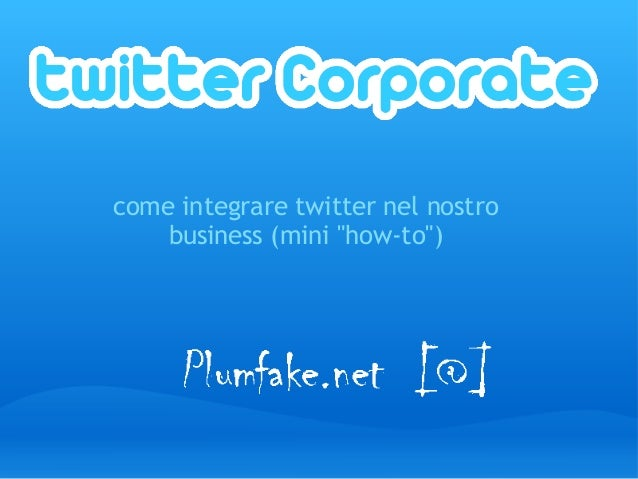 Twitter Corporate
