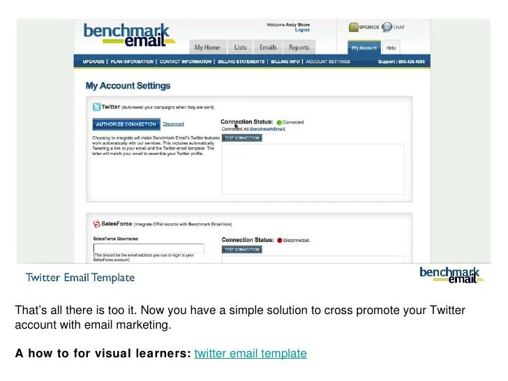 Twitter Email Twitter Email Template