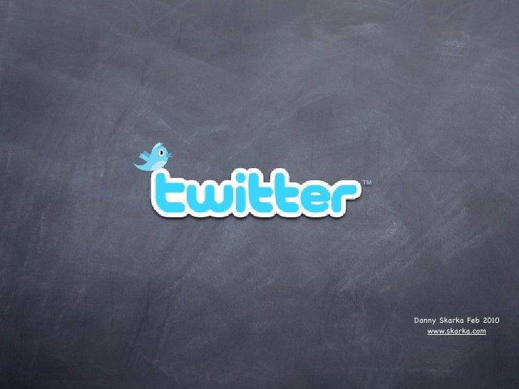 Twitter Explainer Slides