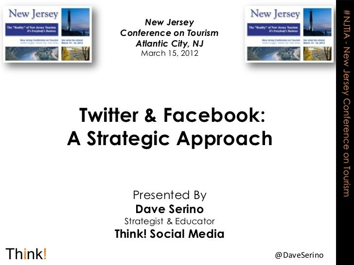 Twitter & Facebook: A Strategic Approach