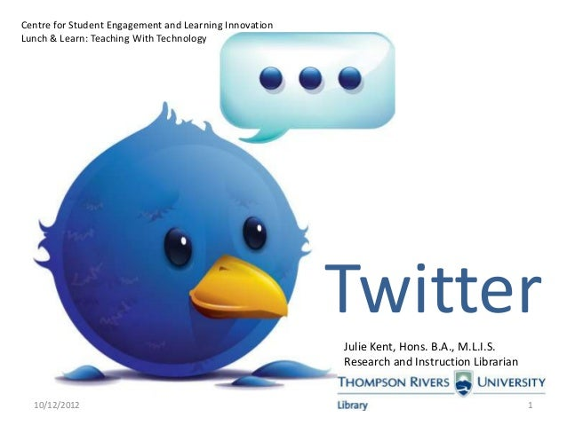 Twitter: Professional Development and Instruction