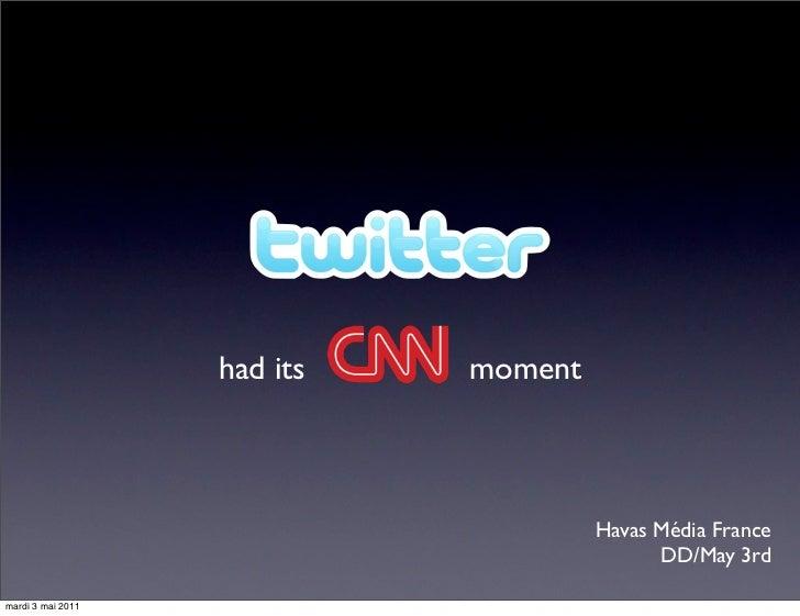 Twitter had its CNN moment