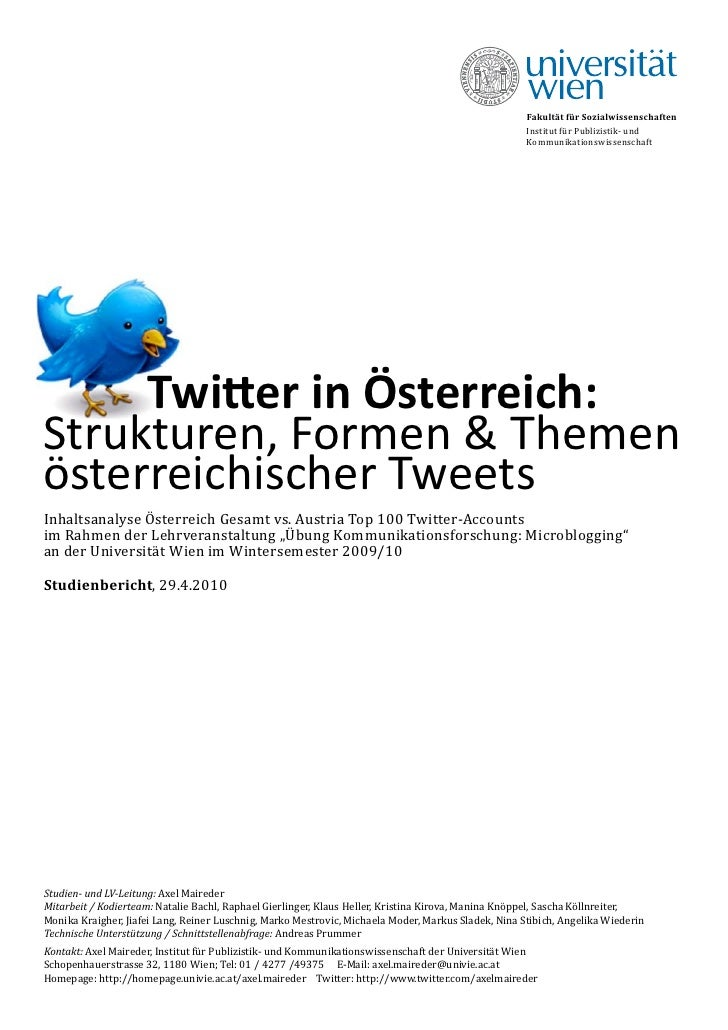 Twitterin oesterreich