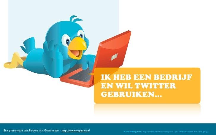 Twitter Mogelijkheden Voor Bedrijven