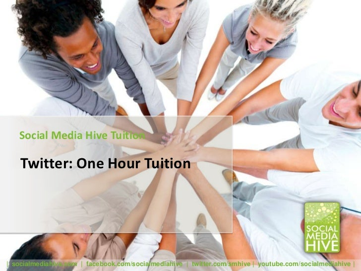 Twitter one hour tuition v2 slideshare