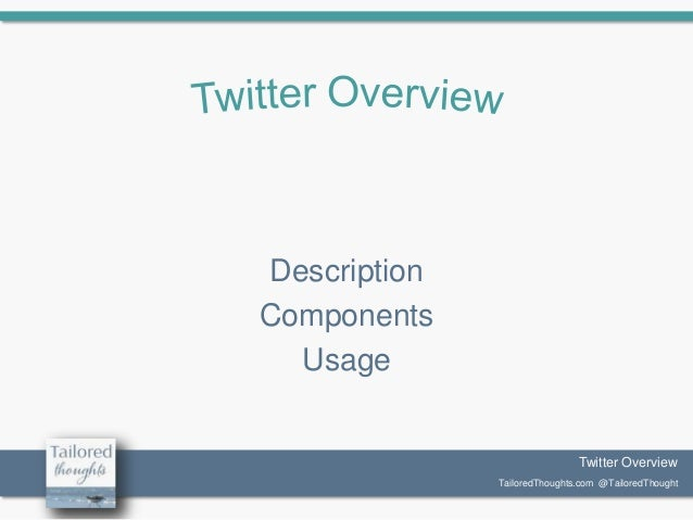 Twitter Overview: The Basics