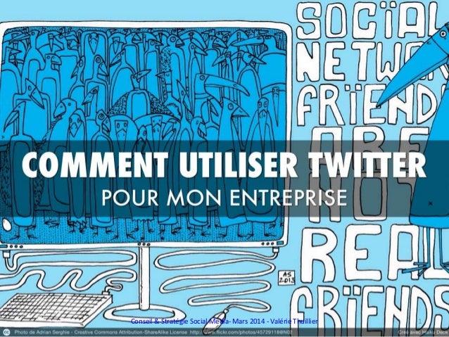 Conseil & Stratégie Social Media- Mars 2014 - Valérie Thuillier 1