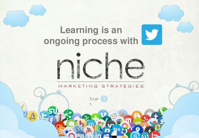 Learning is an ongoing process with  Star t  Learning is an ongoing process with Twitter