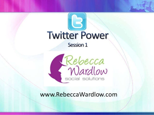 Twitter power part 1