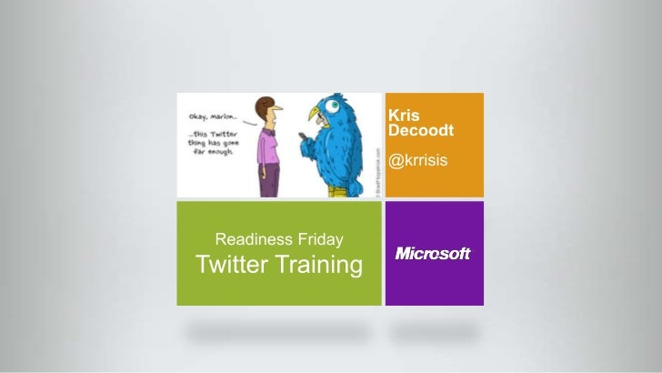 Twitter readiness friday