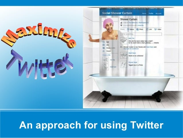 Twitter slide show