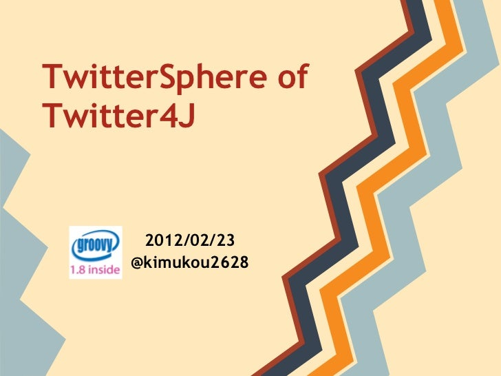 Twitter sphere of #twitter4j #twtr_hack