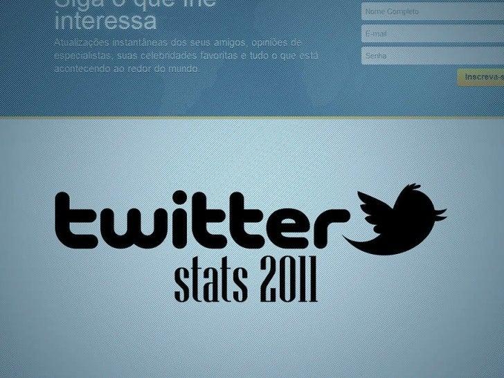 TWITTER STATS 2011