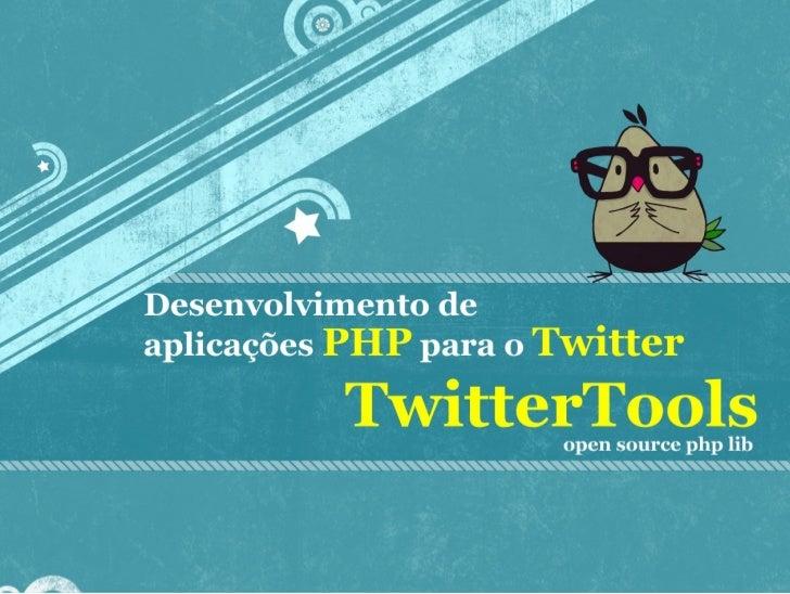 Desenvolvimento de apps para o Twitter