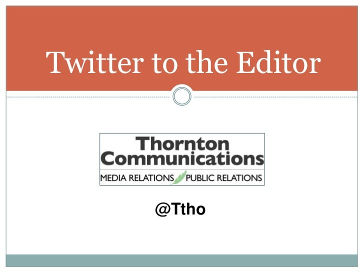 Twitter To The Editor So Con11