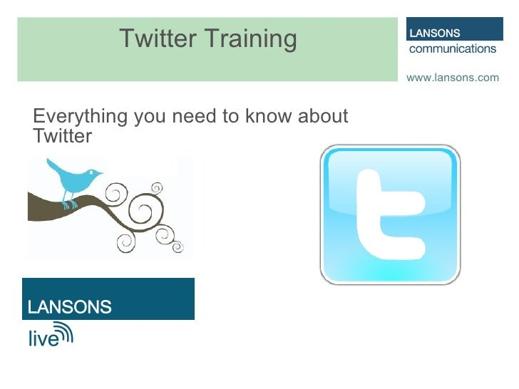 Everything you need to know about Twitter Twitter Training