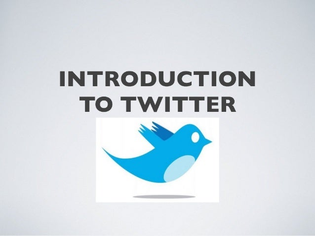 Twitter tutorial 2