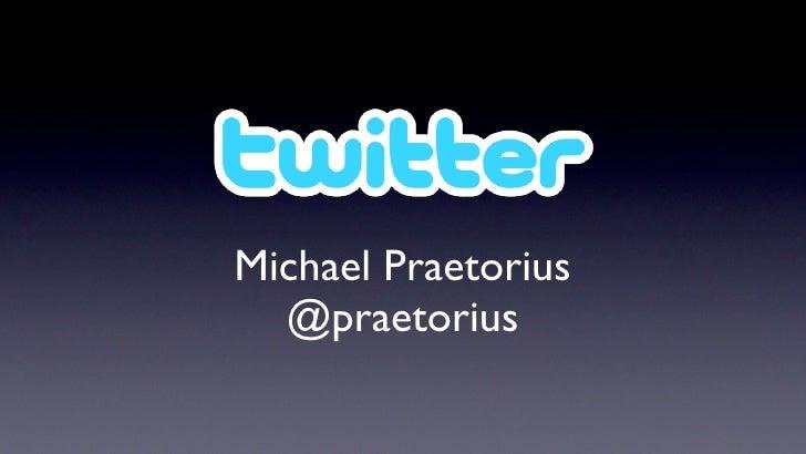 Michael Praetorius   @praetorius