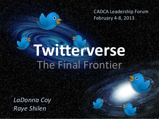 Twitterverse for Coalitions