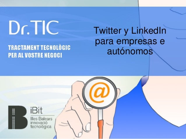 Twitter y linked in para autónomos