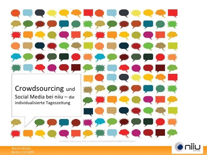 Crowdsourcing   und Social Media bei niiu –  die individualisierte Tageszeitung by skforlee http://www.flickr.com/photos/7...