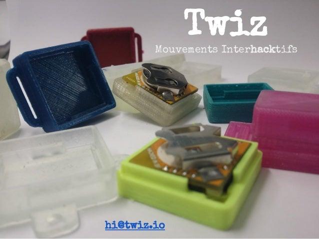 Twiz Mouvements Interhacktifs hi@twiz.io