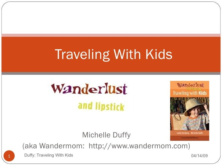 Traveling With Kids Presentation