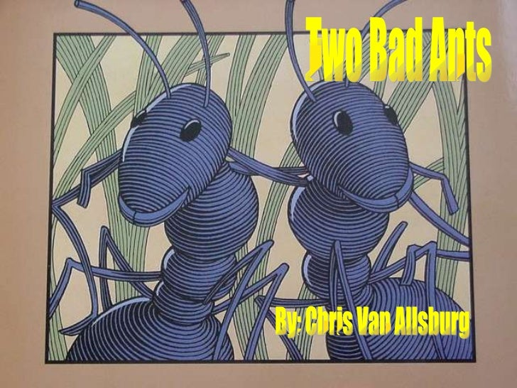 Two bad ants illustrations