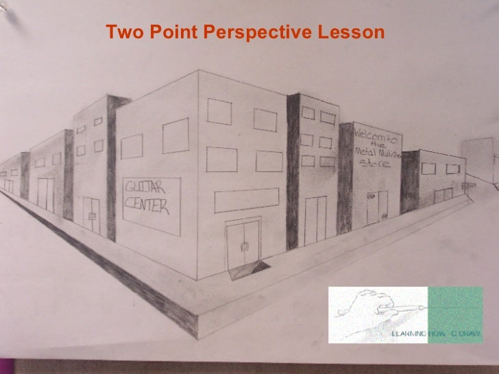 Two Point Perspective Lesson