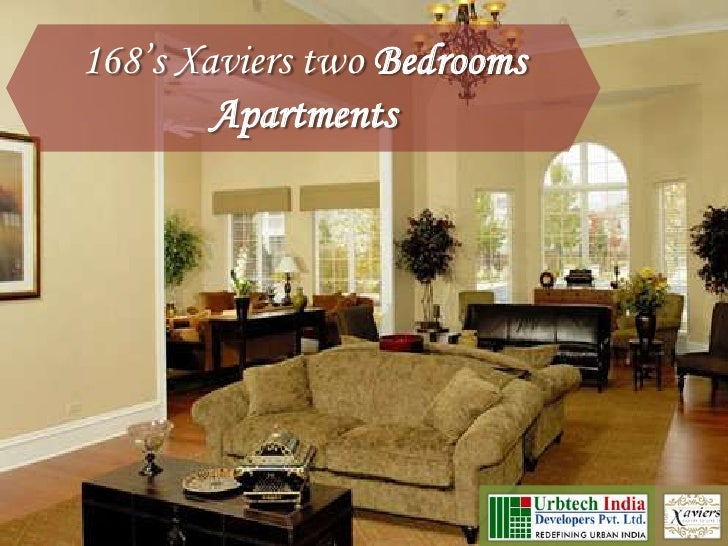 Urbtech Xaviers Noida: Two bedroom furnished apartments