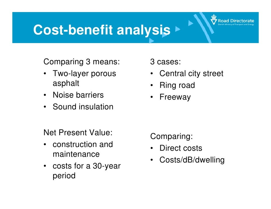 cost benefit analysis and ford The case of the ford pinto a cost-benefit analysis prepared by ford concluded that it was not cost-effecient to add an $11 per car cost in order to correct the.