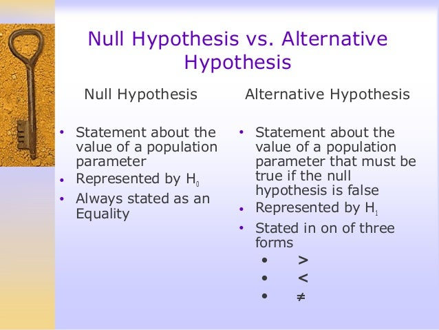 writing a null hypothesis My null hypothesis is that more than 1% gossip and i try to use my sample to gain evidence to refute the null hypothesis in the test you assume the null hypothesis, namely that p = 01 is the probability that a man gossips and then use the binomial distribution to see how likely that in this case 4 out of 100 men in the sample gossip.
