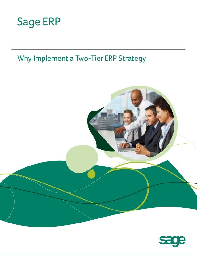 Why Implement a Two-Tier ERP Strategy