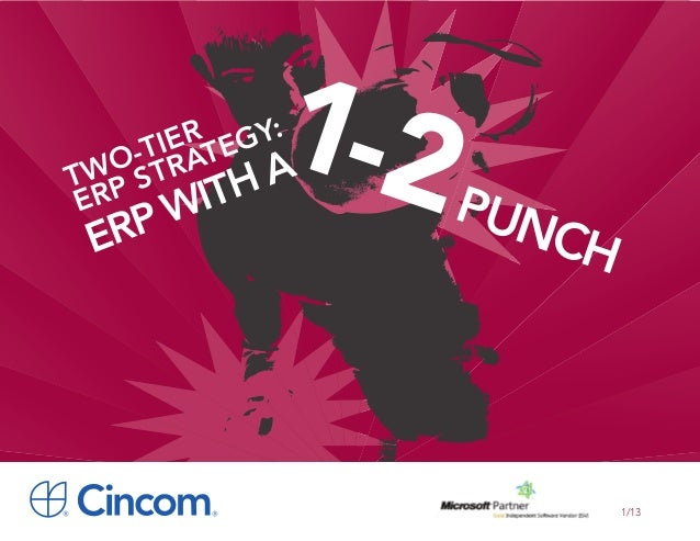 Two-Tier ERP Strategy: ERP with a 1-2 Punch