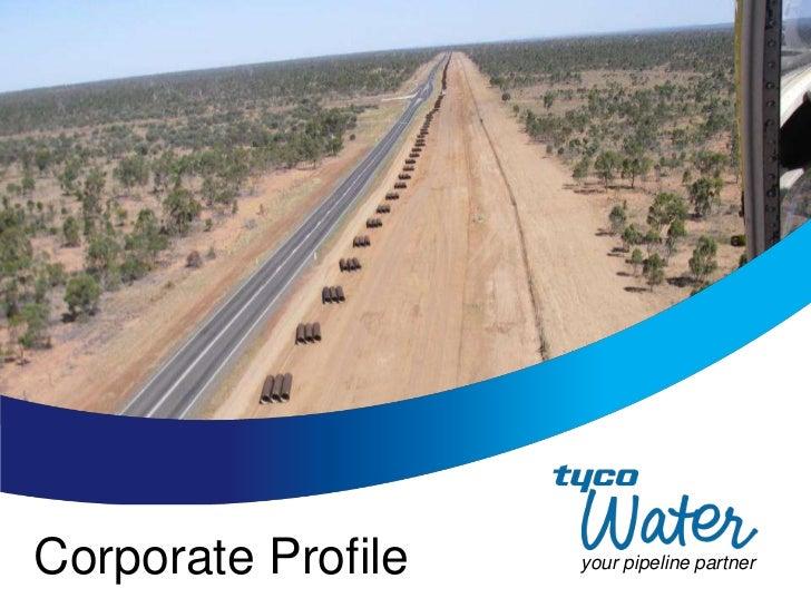 Corporate Profile   your pipeline partner
