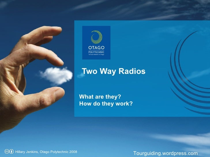 Two Way Radio OP 09