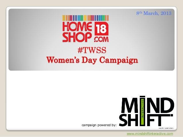 #TWSS Social Media Campaign Report