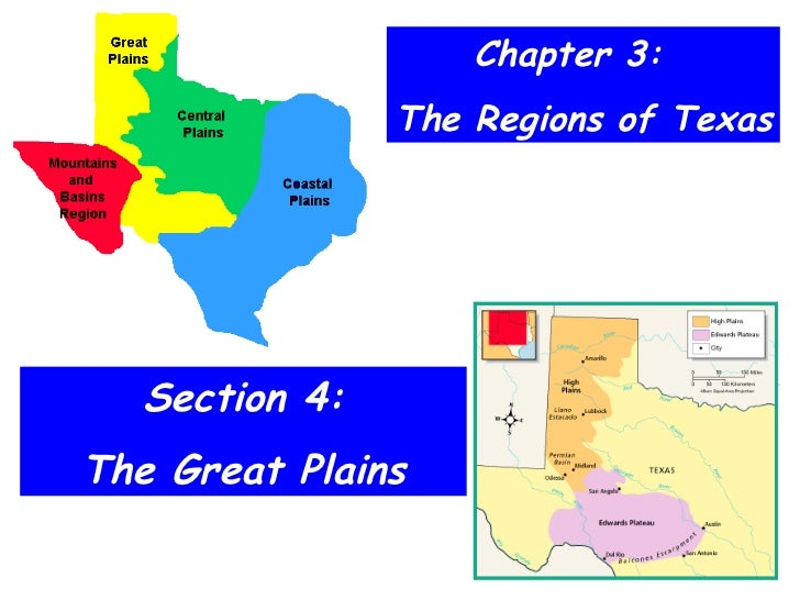 Chapter 3:  The Regions of Texas Section 4: The Great Plains