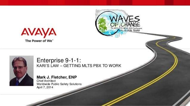 Enterprise 9-1-1:  Kari's Law