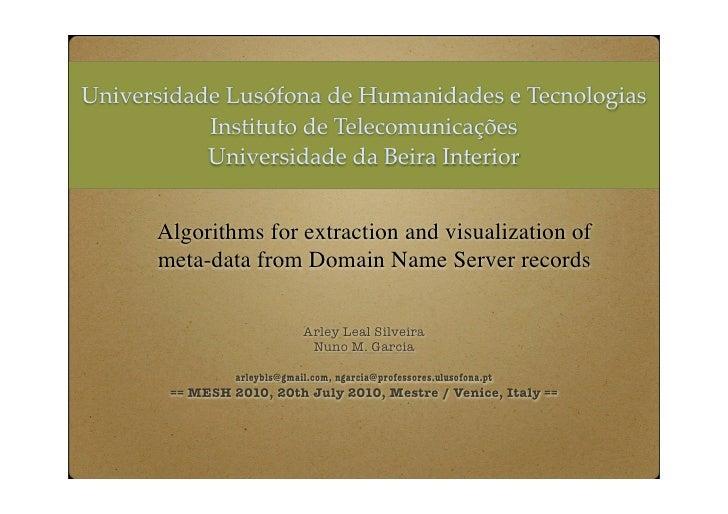 Universidade Lusófona de Humanidades e Tecnologias            Instituto de Telecomunicações            Universidade da Bei...
