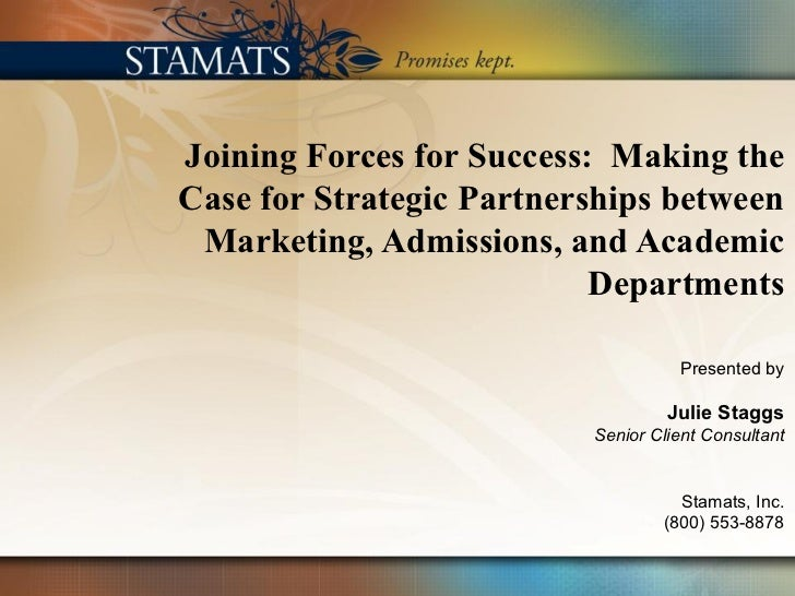 TxGAP Webinar - Joining Forces for Success: Making the Case for Strategic Partnerships between Marketing, Admissions, and Academic Departments