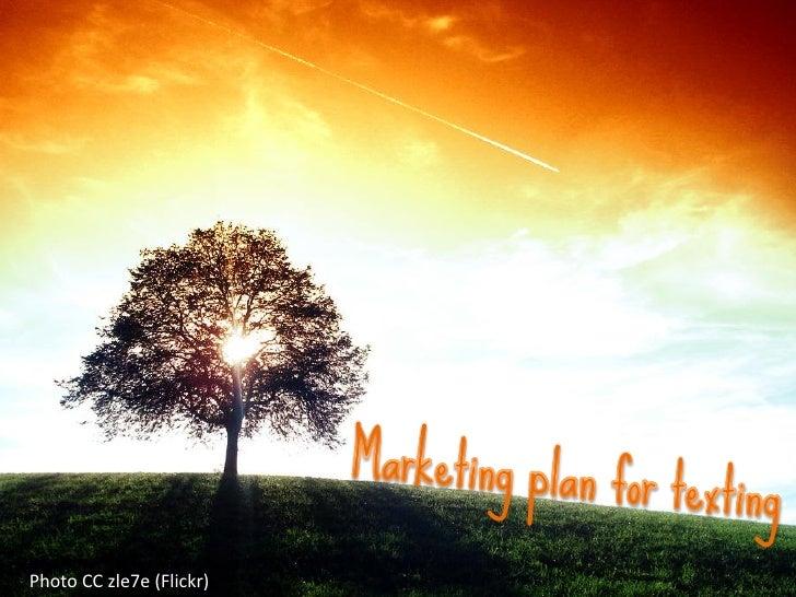 Texting marketing plan