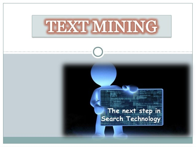Text mining and data mining